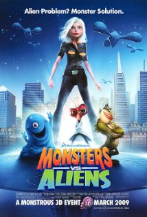 Watch Monsters vs. Aliens