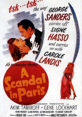 Watch A Scandal in Paris Online