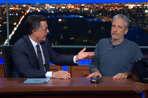 The Late Show with Stephen Colbert S05E77