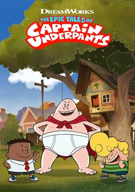 Watch The Epic Tales of Captain Underpants Online